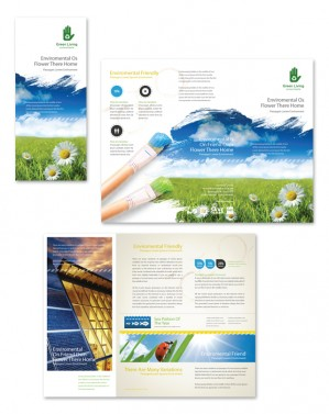 environment brochure template - tri fold brochures archives page 9 of 12 dlayouts