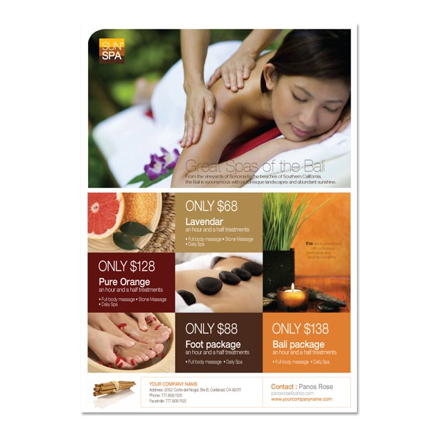 Beauty spa flyer template dlayouts graphic design blog for Salon brochure templates free